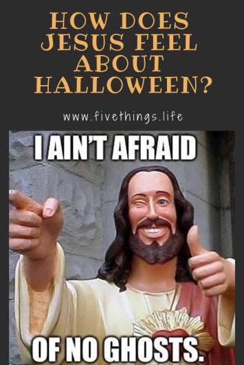 Jesus doesn't live in Fear