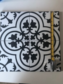 The gorgeous tile that did not fit.